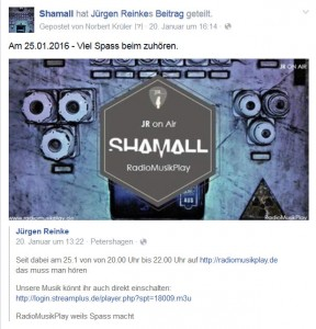 Shamall's Special on Air!