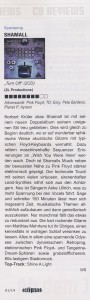 "Rezension ""Turn Off"" by Walter Sehrer, Rock Magazin Eclipsed"